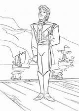 Coloring Prince Hans Disney Walt Characters Fanpop sketch template