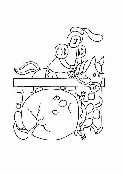 Nursery Rhymes Coloring Pages Sheets Printable Activity