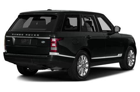 land rover 2016 land rover range rover price photos reviews