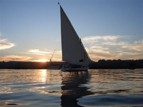 Felucca Boat by Felucca Sailing On The Nile River The Inside Track
