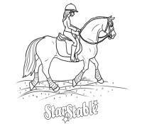 les chevaux de star stable  imprimer