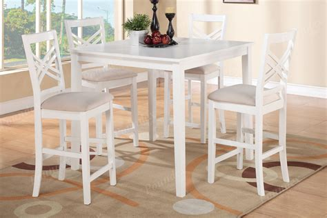 height table and chairs white bar height table and chairs marceladick com
