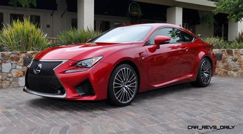 lexus cars red 2015 lexus rc f in red at pebble beach 6