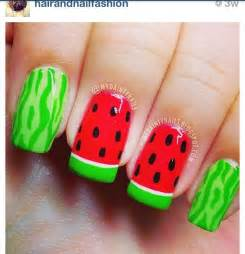 Cute nail design for summer nails