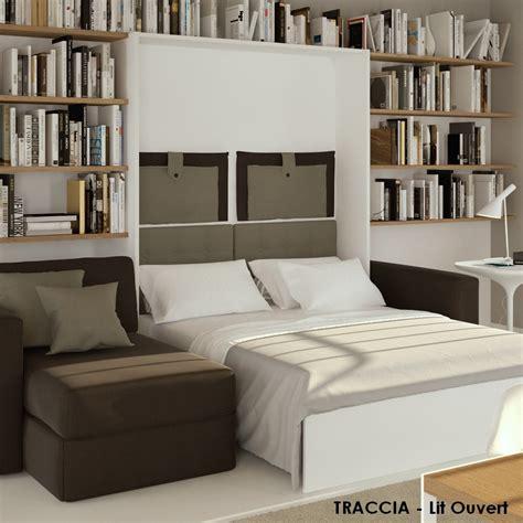 lit escamotable canapé occasion lit escamotable avec canape 28 images armoire lit