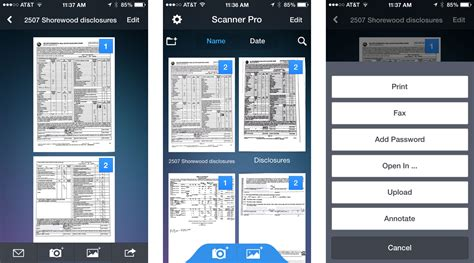 how to scan on iphone best document scanner apps for iphone create search and