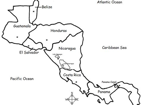 map  belize worksheet    print