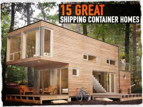 design wohncontainer 15 great shipping container homes survival