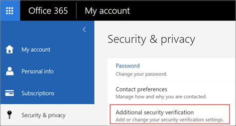 Office 365 Outlook Password Reset by Create An App Password For Office 365 Office 365