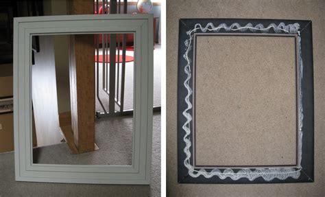 how to frame a medicine cabinet mirror diy framed chalkboard medicine cabinet jenna burger