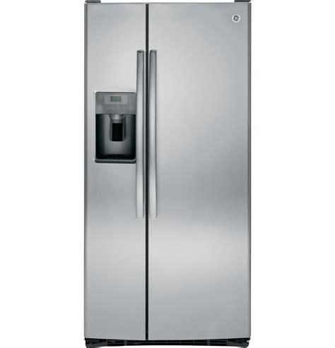 ge energy star  cu ft side  side refrigerator gsegskss ge appliances