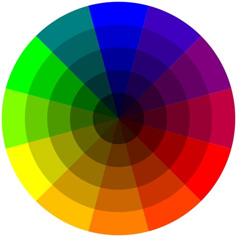 colour wheel free coloring pages of colour wheel