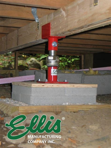 Floor Joist Support Jacks by Photo And Gallery Ellis Manufacturing Co