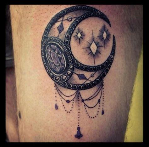 moon jewels tattoo tattoos pinterest jewels jewel tattoo  tattoos  body art