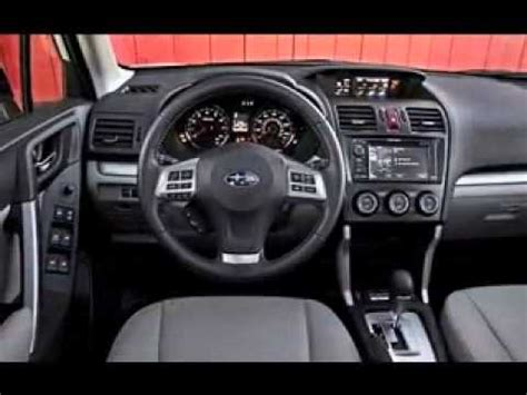2016 subaru forester interior 2016 subaru forester changes interior and exterior youtube
