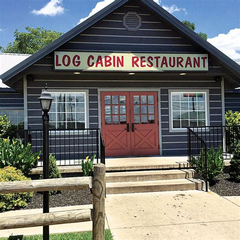 log cabin restaurant log home road trip tennessee