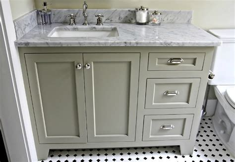 bathroom vanity with offset sink offset sink makes for better use of countertop by resident