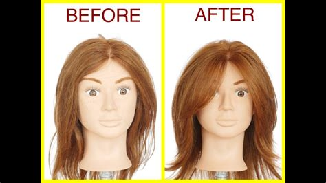 The Best Layered Haircut Tutorial