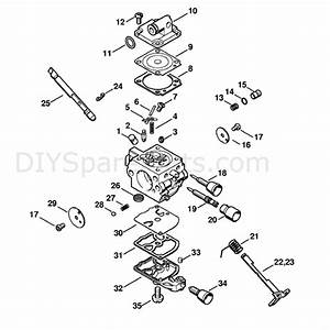 Stihl Ms 192 Chainsaw  Ms192tc  Parts Diagram  Carburetor C1q