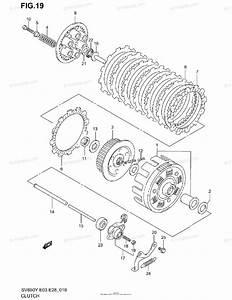 Suzuki Motorcycle 2000 Oem Parts Diagram For Clutch