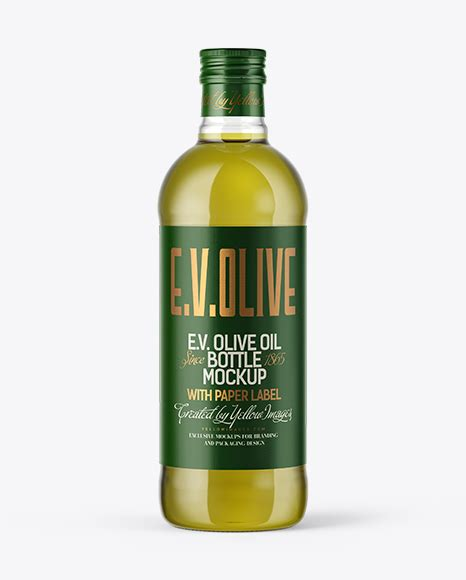 Customizing it to your needs is fun and simple. 750ml Green Glass Olive Oil Bottle Mockup - 750ml Green ...
