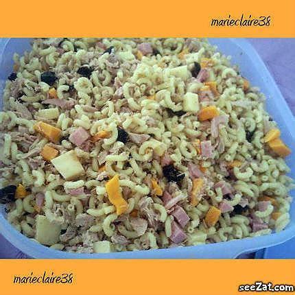 salade de pates recette recettes salades de pates