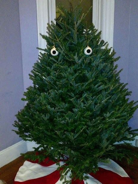 top  scariest  christmas trees