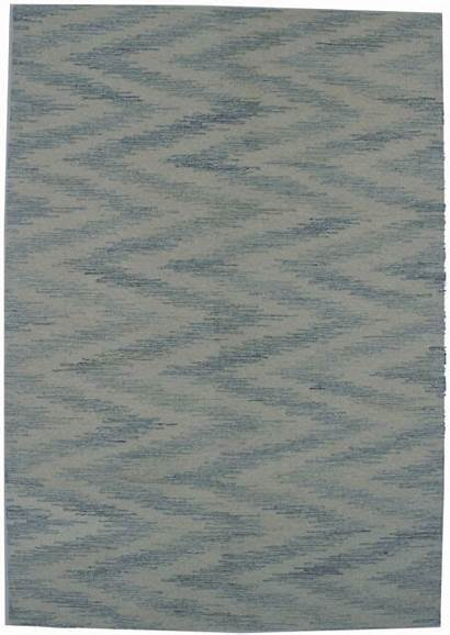 Tufted 5x8 Zig Zag Oriental Carpet Rug
