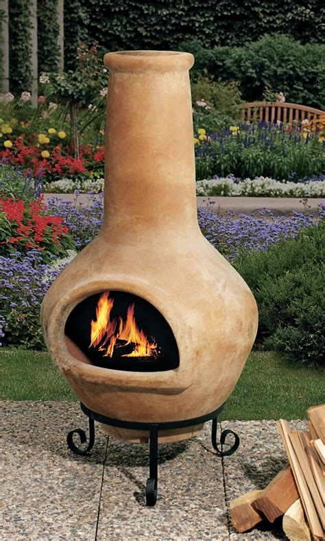 Chiminea Outdoor Fireplace by Cooking On A Chiminea Discuss Cooking Cooking Forums