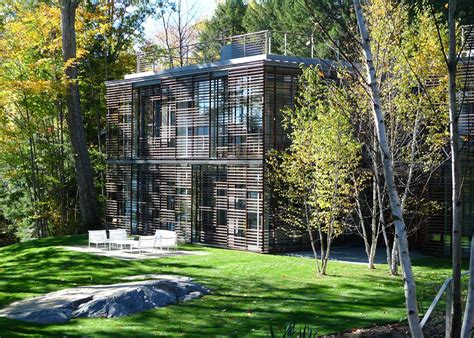 gluck 39 s stunning lake house is partially buried a