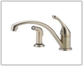 leaking single handle kitchen faucet kitchen faucet leaking from handle faucet cleandus pertaining kitchen sink leaking from handle