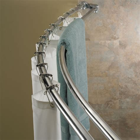 how to place a shower curtain rods the homy design