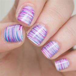 Easter fan brush nail art the nailasaurus uk