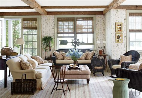 Traditional Living Room By Nantucket House Antiques And