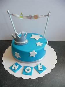 1 An Anniversaire : gateau anniversaire b b 1 an gar on gosupsneek ~ Farleysfitness.com Idées de Décoration