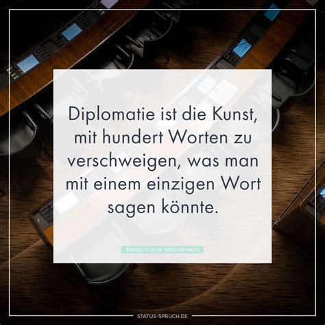 Die Kunst Der Putzfassade by Diplomatie Ist Die Kunst Mit Hundert Worten Zu