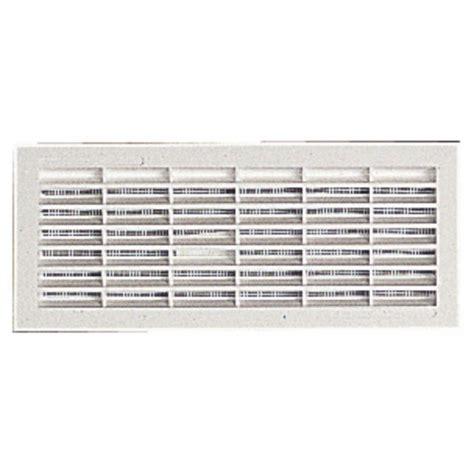grille de ventilation grille de ventilation b161 96x275mm avec moustiquaire 224
