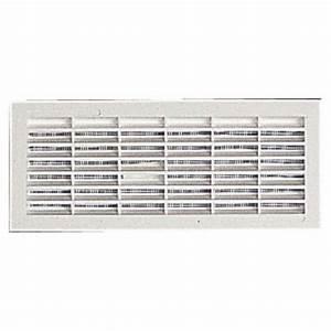 Grille De Ventilation Nicoll : grille de ventilation b161 96x275mm avec moustiquaire ~ Dailycaller-alerts.com Idées de Décoration