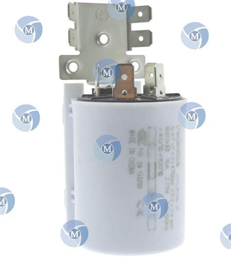 disjoncteur pour lave linge condensateur antiparasite pour lave linge et s 232 che linge