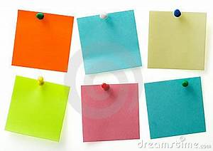 post it notes With letter shaped sticky notes