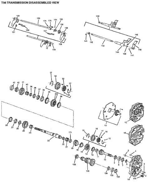 Borg Warner T56 Transmission Diagram