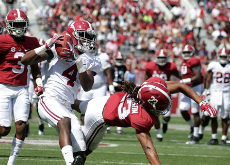 alabama football post spring depth chart  deep