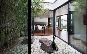 Plan Maison Contemporaine Avec Patio Interieur