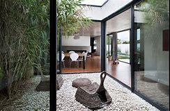 HD wallpapers maison contemporaine avec patio interieur ...