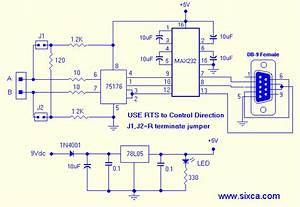 Rs232 To Rs485 Converter - Microcontrollers