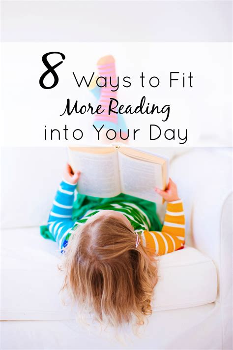 8 Simple Ways To Fit More Reading Into Your Day