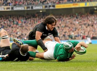 Rory Best Threw Himself Into Ruck Seconds After