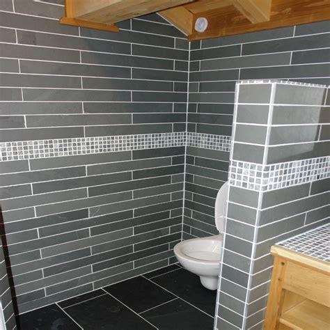 salle de bain carrelage ardoise dalles carrelage ardoise grise 60x7 indoor by