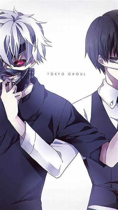 Ghoul Tokyo Anime Kaneki Wallpapers Iphone Boy