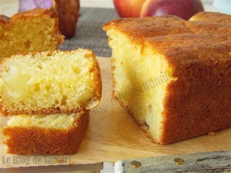 cake aux pommes moelleux aux jaunes d oeufs le